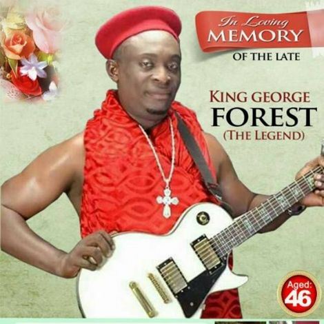 Photo of PHOTOS: The Late George Forest Laid To Rest In A Keyboard Casket