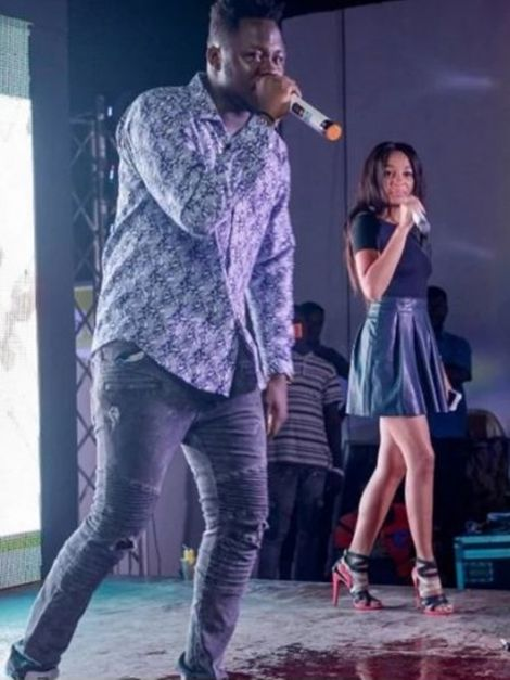 VIDEO Deborah Vanessa Performs With Her Boyfriend At 4syte TV Awards 2016 Launch - VIDEO: Deborah Vanessa Performs With Boyfriend at 4syte TV Awards 2016 Launch