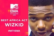 Photo of Wizkid Stripped Off MTV Europe Music Award 2016