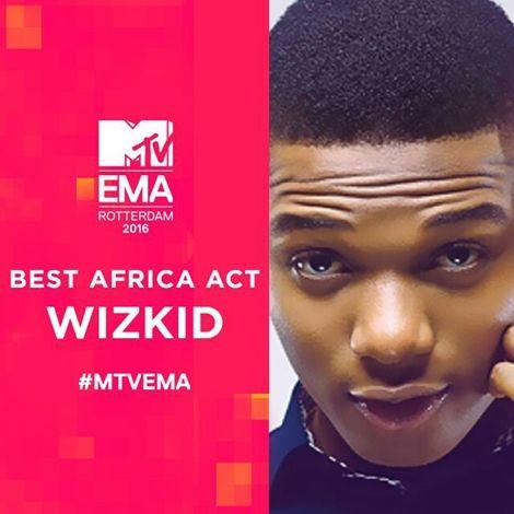 Wizkid Stripped Off MTV Europe Music Award 2016 - Wizkid Stripped Off MTV Europe Music Award 2016