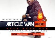 Photo of Article Wan – Faya Burn Dem (Prod. by Article Wan) {Download mp3}