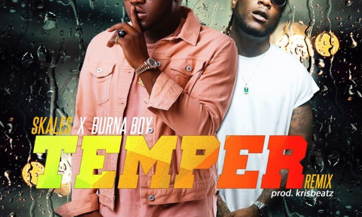 Skales ft. Burna Boy Temper Remix - Skales ft. Burna Boy - Temper Remix {Download Mp3}
