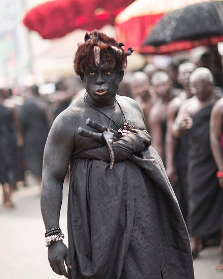 Top 5 scariest photos from Asantehemaas funeral - Top 5 'scariest' photos from Asantehemaa's funeral