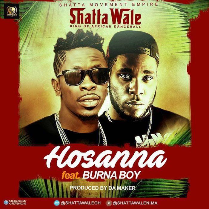Shatta Wale ft. Burna Boy Hosanna - Shatta Wale ft. Burna Boy - Hosanna (Prod. By Damaker)