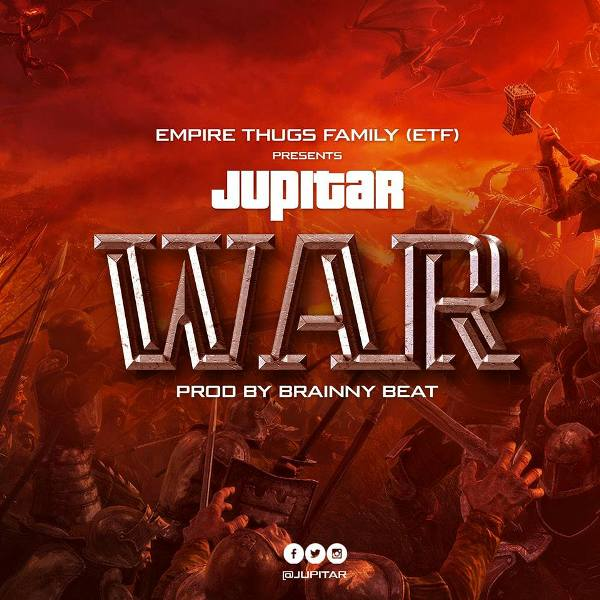 Jupitar War Stonebwoy Diss - Jupitar - War (Stonebwoy Diss) (Prod. by Brainy Beatz)