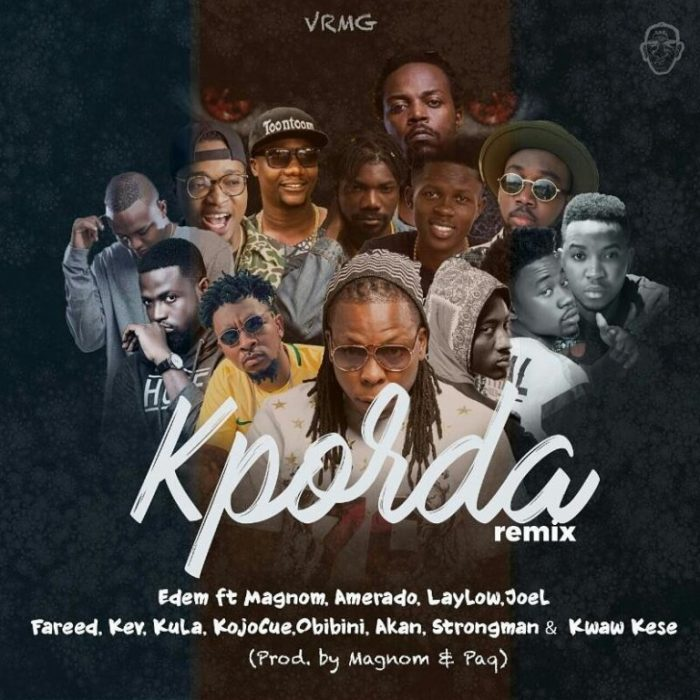 Kporda Remix ft. Various Artist - Kporda (Remix) Edem ft. Various Artist