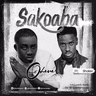 Kontihene ft. Shaker - Sakoaba (Prod. by Kuvie) [BlissGh.com Promo]
