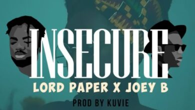 Photo of Lord Paper x Joey B - Insecure (Prod. by Kuvie)