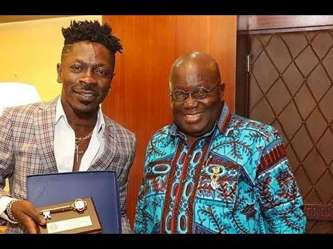video shatta wale finally meets - Video: Shatta Wale finally Meets Prez. Nana Addo Dankwa Akufo-Addo