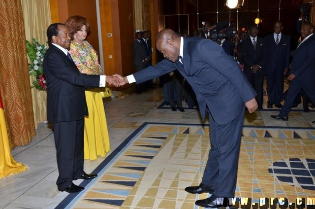 1 - Cameroon minister greets president 'too respectfully', Goes viral, Photos