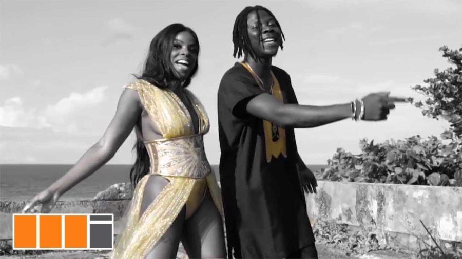 stonebwoy hold on yuh ft khalia - Stonebwoy ft. Khalia - Hold On Yuh  (Official Music Video)