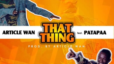 Photo of Article Wan ft. Patapaa – That Thing