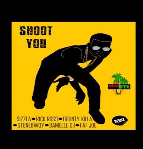 Sizzla Shoot You Remix - Sizzla - Shoot You Remix ft. Rick Ross, Bounty Killa, Stonebwoy, Fat Joe, Daniel DI