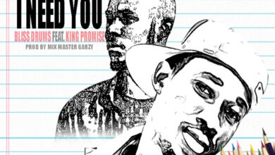 Photo of Bliss Drums ft King Promise – I Need You (Prod. by Mix Master Garzy)