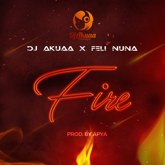 FIRE2 - Dj Akuaa feat. Feli Nuna - Fire (Prod by. Apya)
