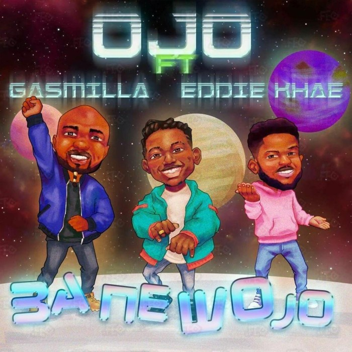 Ojo ft Gasmilla Eddie Khae Ba Ne Wo Jo  - Ojo ft. Gasmilla x Eddie Khae - Ba Ne Wo Jo