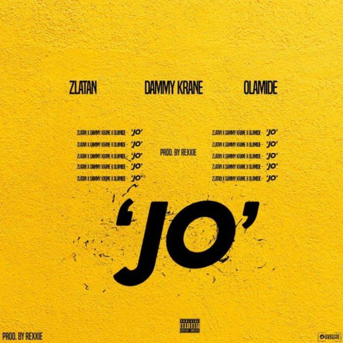 Jo 720x720 - Dammy Krane ft. Zlatan x Olamide - Jo Jo
