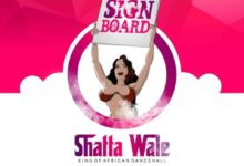Photo of Shatta Wale – SignBoard (prod by Chensee beatz)