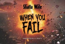 Photo of Shatta Wale – When You Fail (Prod. By ItzCJ)