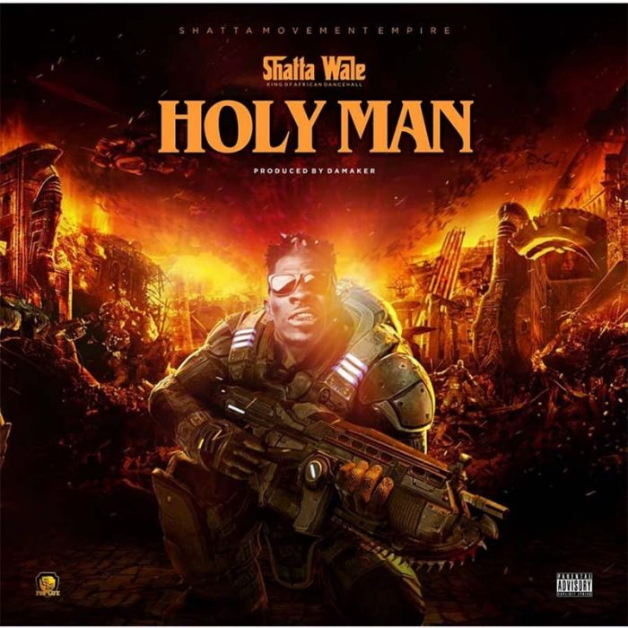 SHATTA HOLYMAN - Shatta Wale - Holy Man (Prod.-By-Damaker)