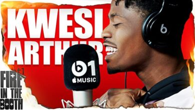 Photo of Kwesi Arthur Fire In The Booth Freestyle 2019