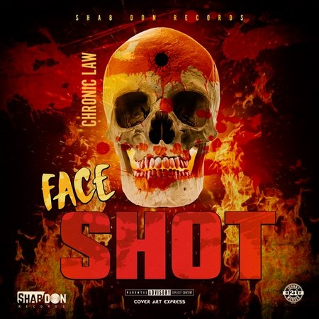 CHRONIC LAW FACE SHOT COVER - CHRONIC LAW - FACE SHOT (SHAB DON RECORDS)