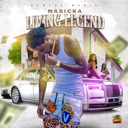 Photo of MASICKA – LIVING LEGEND [CLEAN]