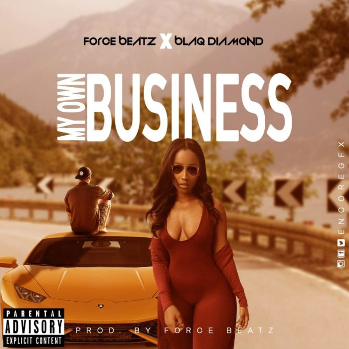a130cbd9 9834 41a1 8f0a 9a9c237f5cb4 - Force Beatz X Blaq Diamond - My Own Business (Prod. By Force Beatz)