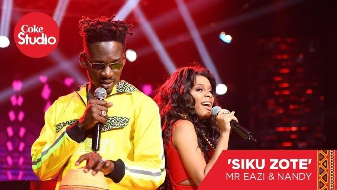 Mr Eazi Nandy Siku Zote mp3 image - Mr Eazi – Siku Zote ft. Nandy