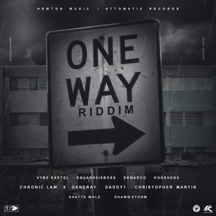 One Way Riddim Front Cover - Shatta Wale – Vibration (One Way Riddim)