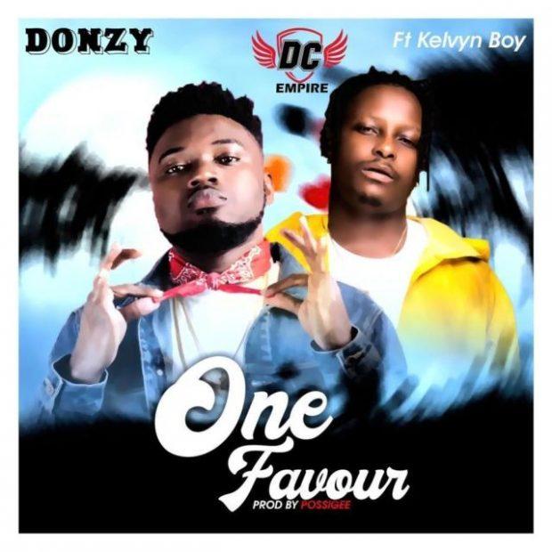 donzy 620x620 - Donzy – One Favour ft. Kelvynboy (Prod By PossiGee)