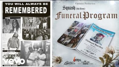 Photo of Squash - Funeral Program (Alkaline Diss)
