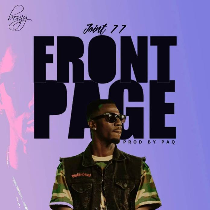 joint 77 front page - Joint 77 – Front Page (Prod. by Paq)