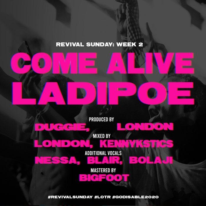 LadiPoe Come Alive - LadiPoe – Come Alive