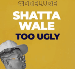 Photo of Shatta Wale — Too Ugly (Prod By Gold Up Music)
