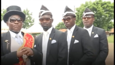 Photo of Ghana's hottest Pallbearers 'Dadaawu Boys' who went viral worldwide to audition new members