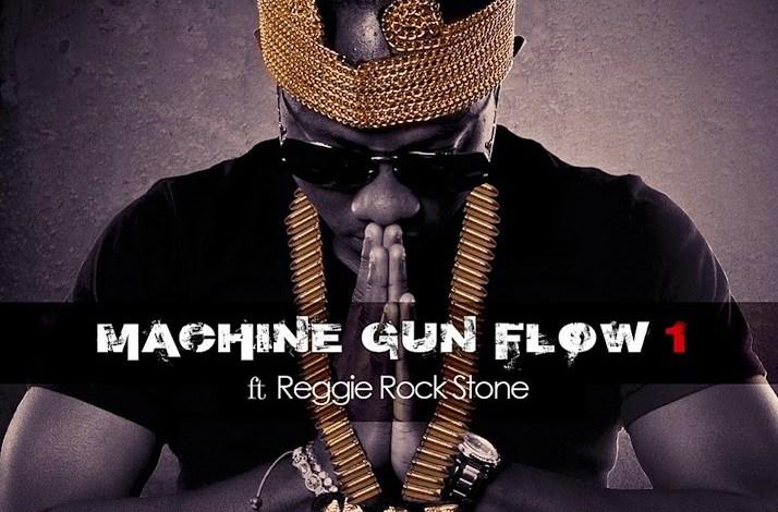 Photo of Flowking Stone - Machine Gun Flow ft. Reggie Rockstone (Prod. by Magnom)