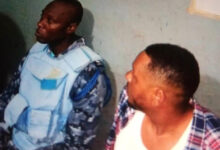 Photo of Police Inspector busted in Obuasi for gold robbery