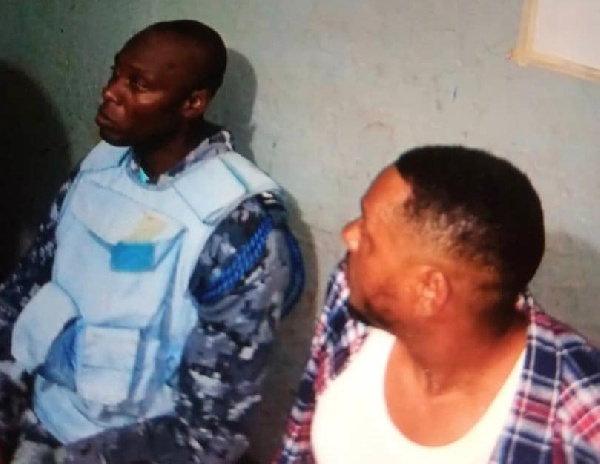 Police Inspector busted in Obuasi for gold robbery
