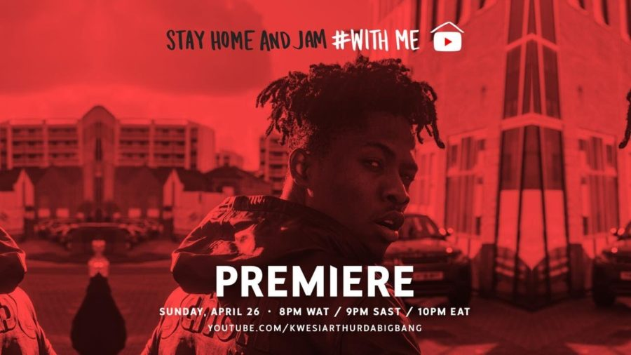 Video: Kwesi Arthur - Stay home With me (Live session)