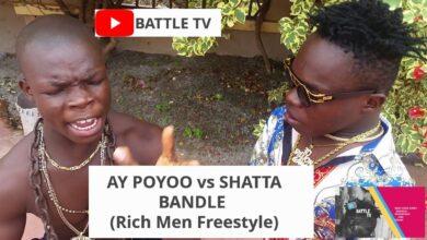 Photo of AY Poyoo vs Shatta Bandle (Rich Men Freestyle)