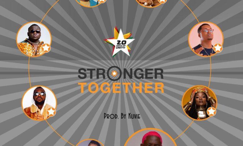Photo of Efya x Bosom Pyung x Kojo Cue x Fancy Gadam x CJ Biggerman x Pappy Kojo x Yaa Pono x Feli Nuna – Stronger Together (Prod. by Kuvie)
