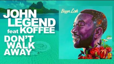 Photo of John Legend ft. Koffee – Don't Walk Away