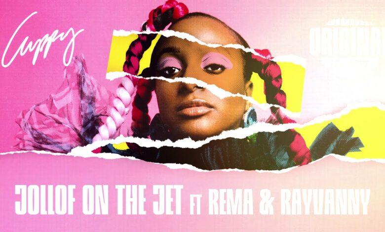 DJ Cuppy - Jollof On The Jet ft. Rema & Rayvanny