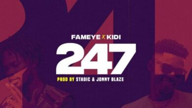 Photo of Fameye – 247 ft. KiDi (Prod. by Jonny Blaze)