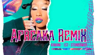 Photo of Victoria Kimani & FKI 1st feat. Stonebwoy – Afreaka (Remix)