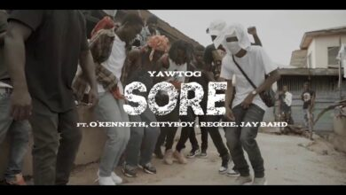 Photo of Yaw Tog ft. O`kenneth,City Boy, Reggie x Jay bahd – Sore [Stand Up] (Official Video)