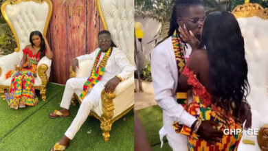 Photo of My husband's penis is bigger than what Ghanaians saw – Wisa Greid's wife