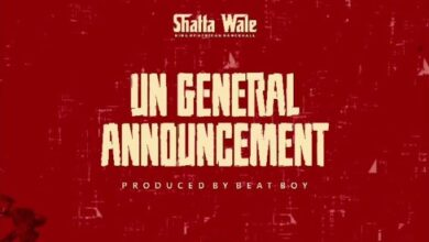 Photo of Shatta Wale – UN General Announcement (Prod. By Beat Boy) {Samini diss}