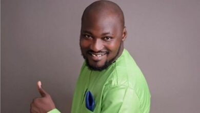 Funny Face na Ghanaian comedian and musician for Ghana